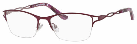 Saks Fifth Avenue - Saks 299 52mm Plum Eyeglasses / Demo Lenses