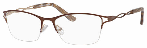 Saks Fifth Avenue - Saks 299 52mm Brown Eyeglasses / Demo Lenses