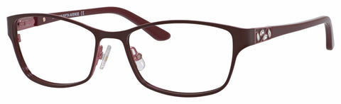 Saks Fifth Avenue - Saks A 301 52mm Burgundy Eyeglasses / Demo Lenses