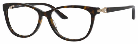 Saks Fifth Avenue - Saks A 302 52mm Dark Havana Eyeglasses / Demo Lenses