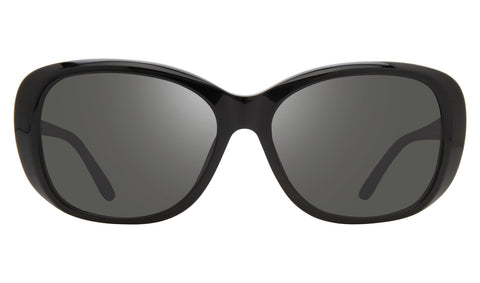 Revo - Sammy 56mm Black Sunglasses / Graphite Lenses