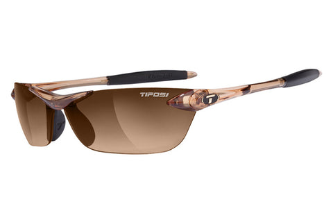 Tifosi Seek Crystal Brown Sunglasses, Brown Gradient Lenses