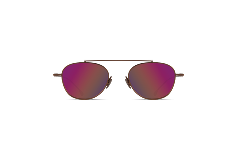 Komono - Sheldon Luminous Sunglasses / Solid Smoke Lenses