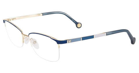 Badgley Mischka - Fleetwood 54mm Blue Eyeglasses / Demo Lenses