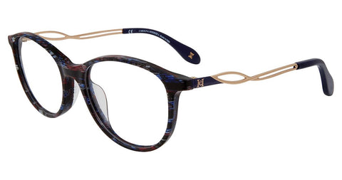Carolina Herrera - VHN590M 51mm Blue Multi Eyeglasses / Demo Lenses