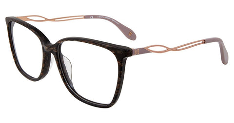 Carolina Herrera - VHN589M 54mm Brown Eyeglasses / Demo Lenses