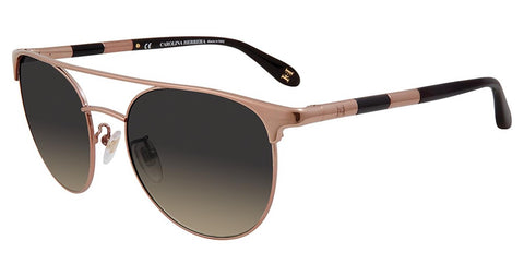 Carolina Herrera - SHN051M 54mm Bronze Sunglasses / Smoke Gradient Lenses
