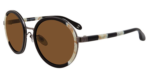 Carolina Herrera - SHN050M 53mm Black Sunglasses / Brown Lenses