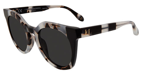 Carolina Herrera - SHN595 50mm Black Tortoise Sunglasses / Smoke Lenses