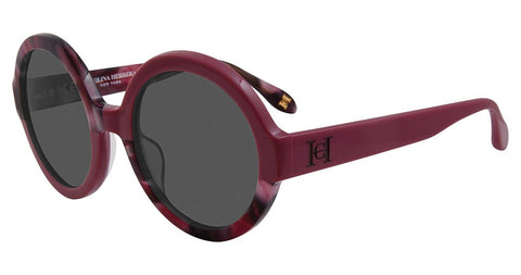 Carolina Herrera - SHN597 53mm Burgundy Sunglasses / Smoke Lenses