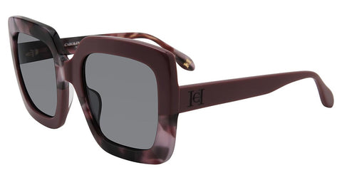 Carolina Herrera - SHN596M 54mm Purple Sunglasses / Smoke Lenses
