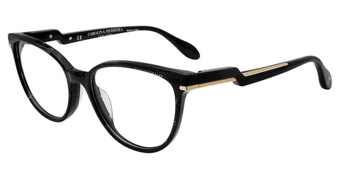 Carolina Herrera - VHN591M 53mm Black Eyeglasses / Demo Lenses