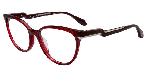 Carolina Herrera - VHN591M 53mm Burgundy Eyeglasses / Demo Lenses