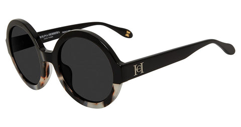 Carolina Herrera - SHN597 53mm Black Sunglasses / Smoke Lenses