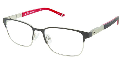 Champion - 7023 52mm Black Grey Eyeglasses / Demo Lenses