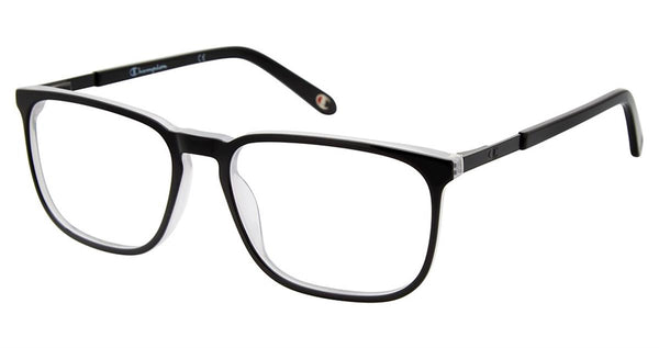 Champion - 2023 56mm Black Clear Eyeglasses / Demo Lenses