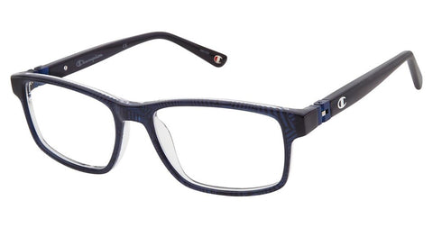Champion - 7021 51mm Transparent Navy Eyeglasses / Demo Lenses