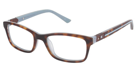 Champion - 7002 47mm Brown Tortoise Eyeglasses / Demo Lenses
