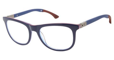 Champion - 3Ring 50mm Navy Red Eyeglasses / Demo Lenses