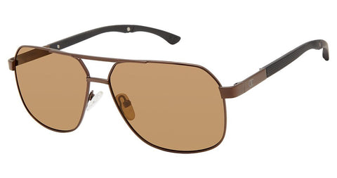 Champion - Alter 59mm Dark Brown Sunglasses / Dark Brown Polarized Lenses