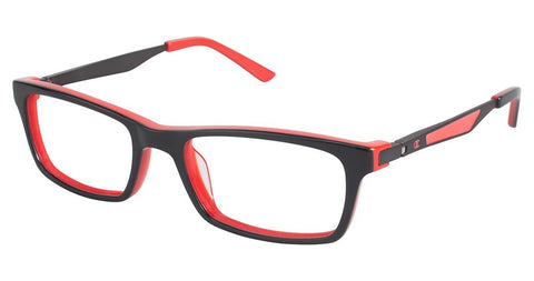 Champion - 7004 49mm Shiny Black Eyeglasses / Demo Lenses