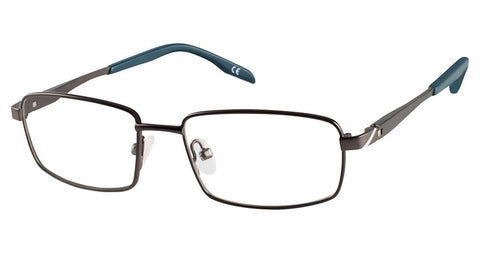 Champion - 7013 50mm Gunmetal Eyeglasses / Demo Lenses