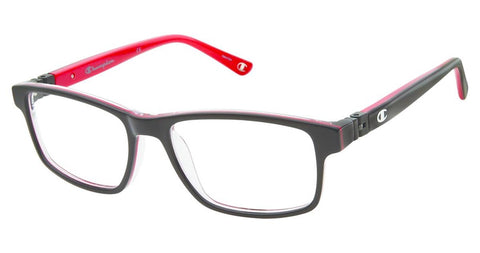 Champion - 7021 51mm Black Red Eyeglasses / Demo Lenses
