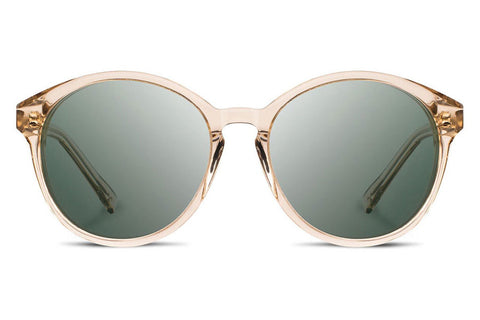 Shwood - Bailey Acetate Champagne / G15 Sunglasses