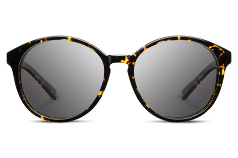 Shwood - Bailey Acetate Dark Speckle / Grey Sunglasses