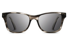 Shwood - Canby Acetate Pearl Grey / Grey Polarized Sunglasses