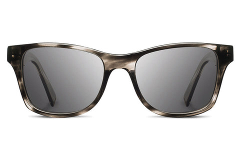 Shwood - Canby Acetate Pearl Grey / Grey Sunglasses