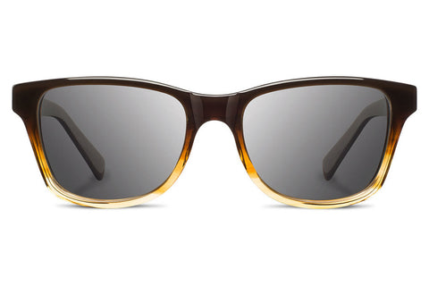 Shwood - Canby Acetate Sweet Tea / Grey Polarized Sunglasses