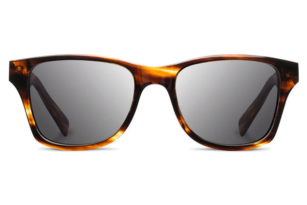 Shwood - Canby Acetate Tortoise / Grey Polarized Sunglasses