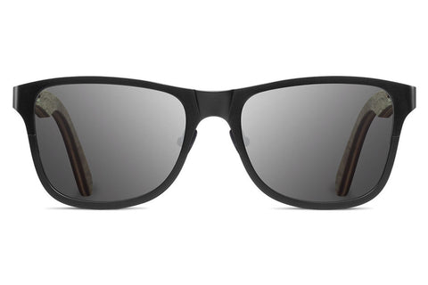 Shwood - Canby Titanium Black / Grey Sunglasses