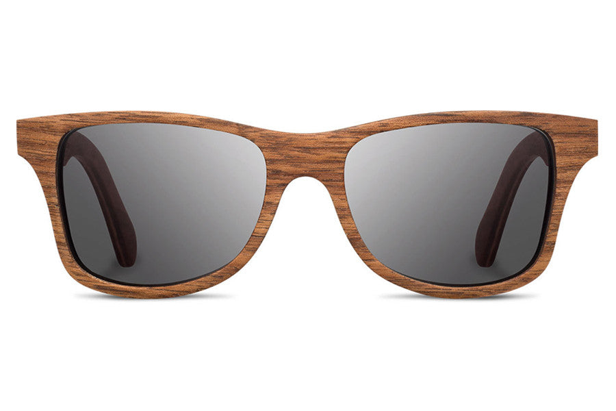 Shwood - Canby Walnut / Grey Sunglasses