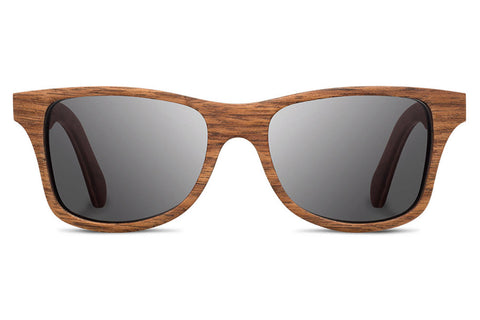 Shwood Canby Walnut / Grey Polarized Sunglasses
