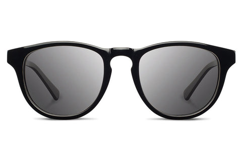 Shwood - Francis Acetate Black / Grey Polarized Sunglasses