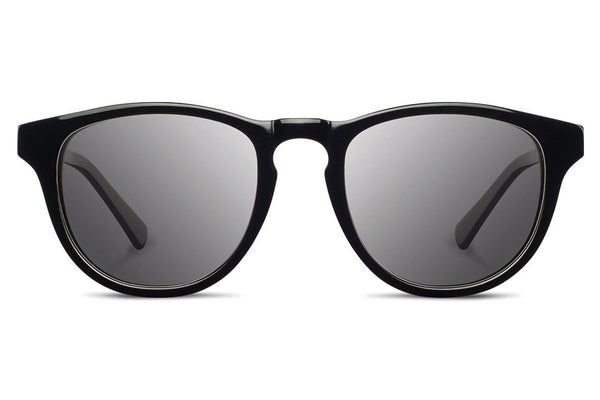 Shwood - Francis Acetate Black / Grey Sunglasses