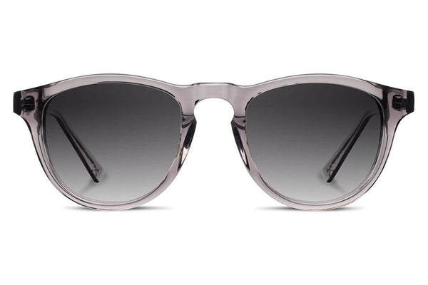 Shwood - Francis Acetate Smoke / Grey Fade Polarized Sunglasses