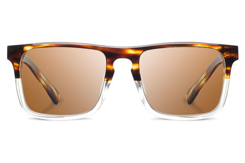 Shwood - Govy 2 Acetate Whiskey Soda / Brown Polarized Sunglasses