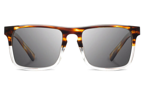 Shwood - Govy 2 Acetate Whiskey Soda / Grey Sunglasses