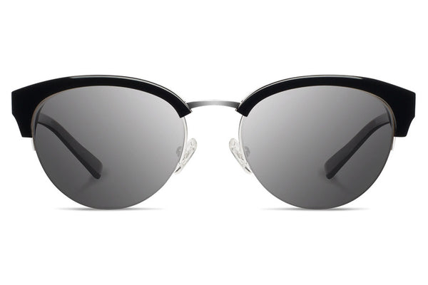 Shwood - Hayden Acetate Black / Grey Sunglasses
