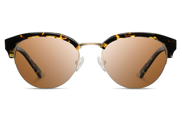 Shwood - Hayden Acetate Dark Speckle / Brown Sunglasses