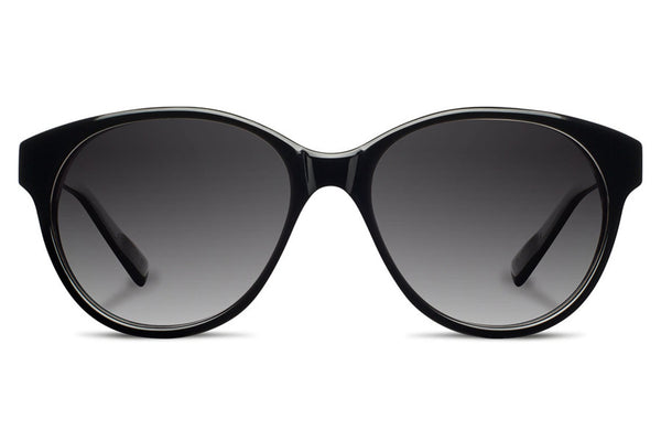 Shwood - Madison Acetate Black / Grey Fade Polarized Sunglasses