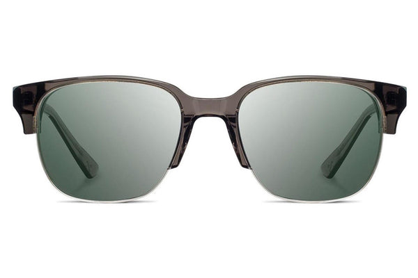 Shwood - Newport 52mm Acetate Charcoal / G15 Sunglasses