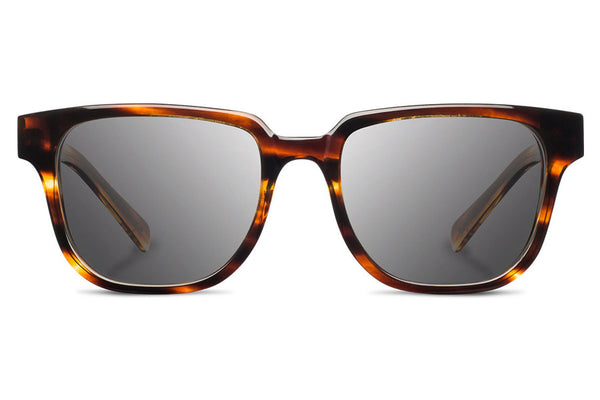 Shwood - Prescott Acetate Tortoise / Grey Polarized Sunglasses