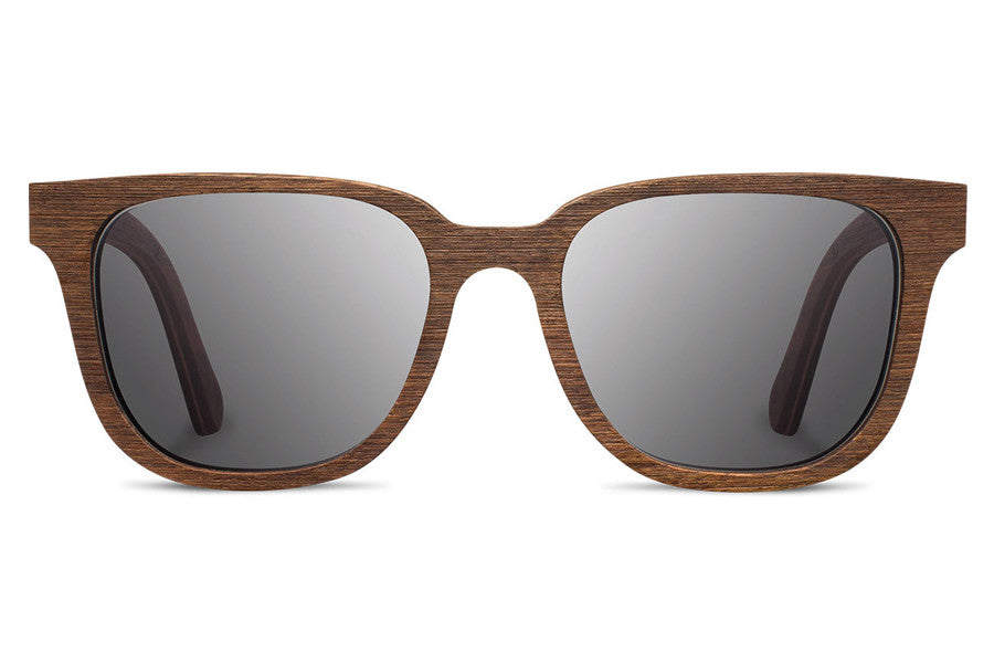 Shwood - Prescott Walnut / Grey Polarized Sunglasses