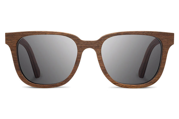Shwood - Prescott Walnut / Grey Sunglasses