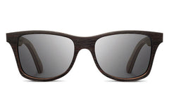 Shwood - Canby Ebony / Redwood, Grey Polarized Sunglasses