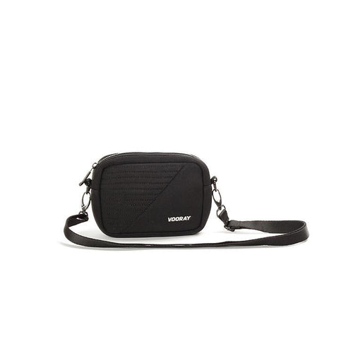 Vooray - Sidekick Black Moto Crossbody Bag
